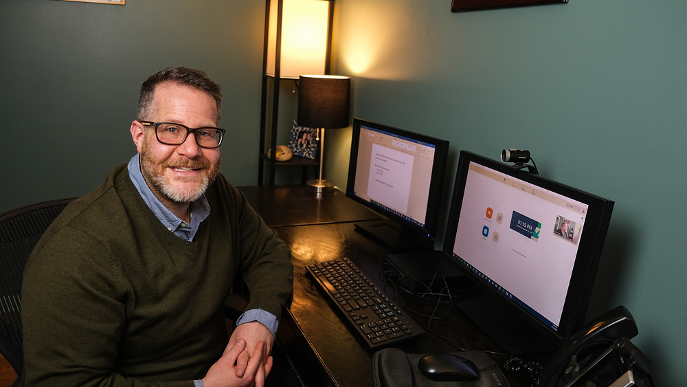 Speaking coach Paul Kreiter will work with you virtually to nail your virtual presentations.