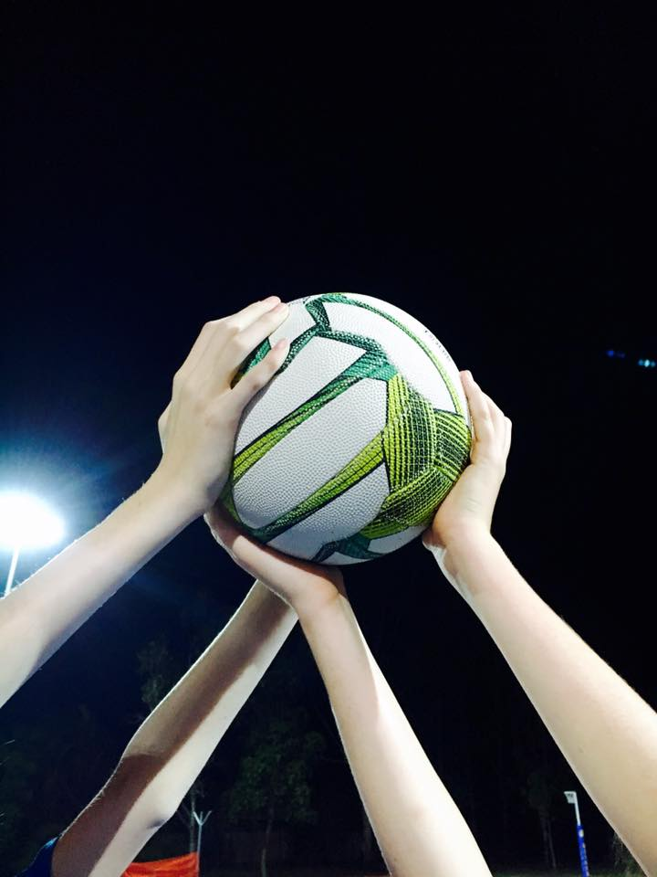 netball hands