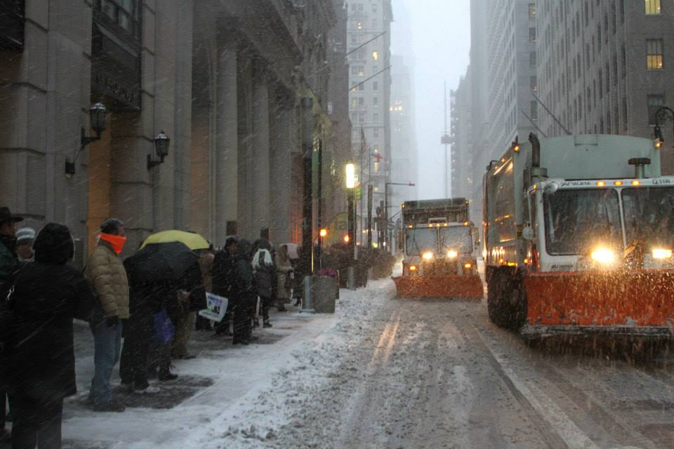 Snow NYC II