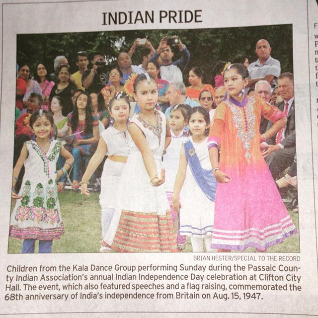 #weherelive From today's #Record Local section Page L6 Feeling #blessed #india #independenceday #cli