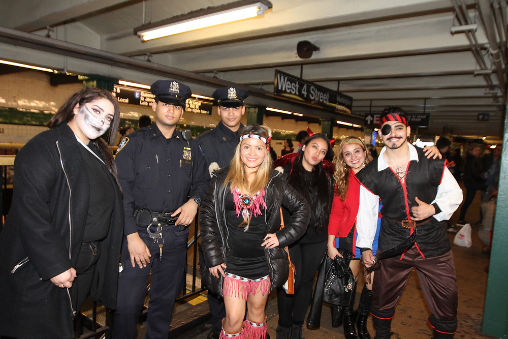 Hundreds of thousands of New Yorker's celebrated at the annual NYC Village Halloween Parade without incident largerly due to the unyeilding efforts of the worlds largest and best police department, the NYPD.