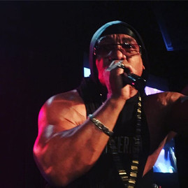 Rapper Grand Master Mel of Sugar Hill Gang performs last night at B. B. Kings nightclub in Times Square