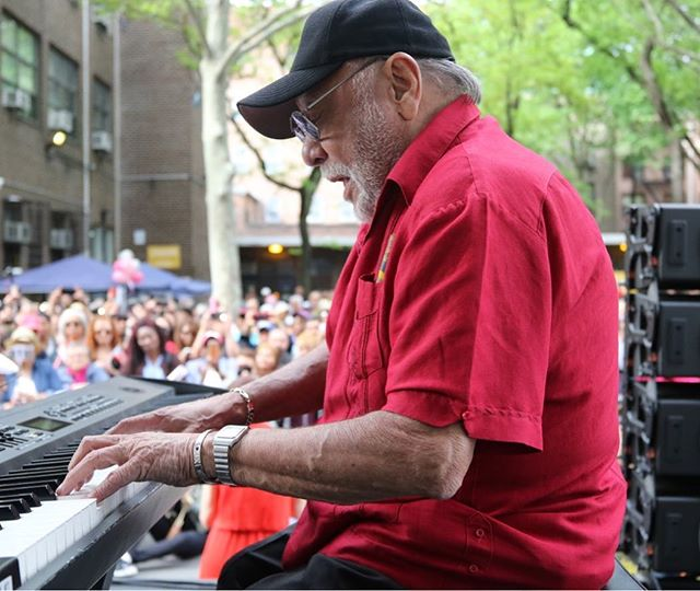 Latin Music Legend Eddie Palmieri thrills the crowds at Union Settlement 25 Annual  Ethnic Festival