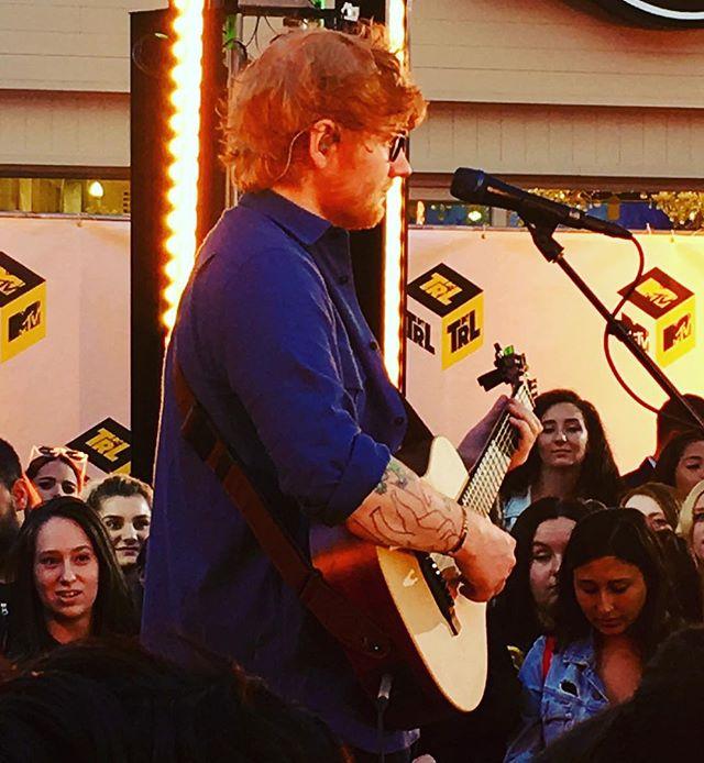 Ed Sheeran Times Square