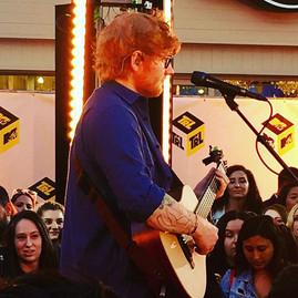 Ed Sheeran MTV TRL Times Square