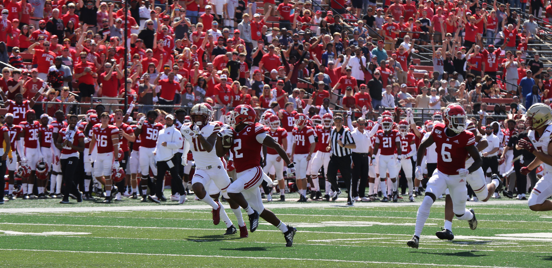 Rutgers Vs BC  Photo by Brian Hester 004