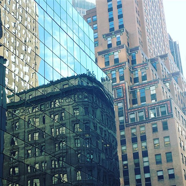 Old & New Midtown Reflections
