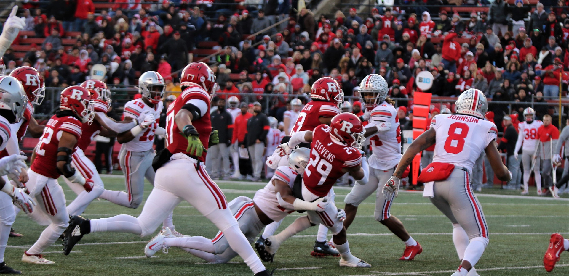 Rutgers Vs Ohio State Photo by Brian Hes