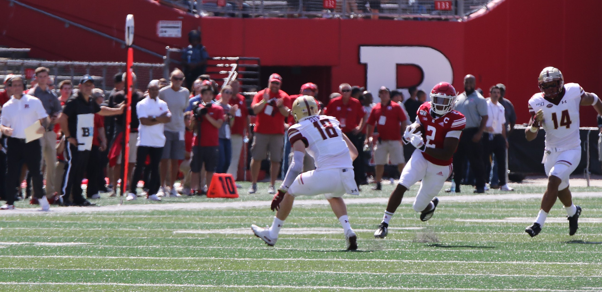 Rutgers Vs BC  Photo by Brian Hester 003
