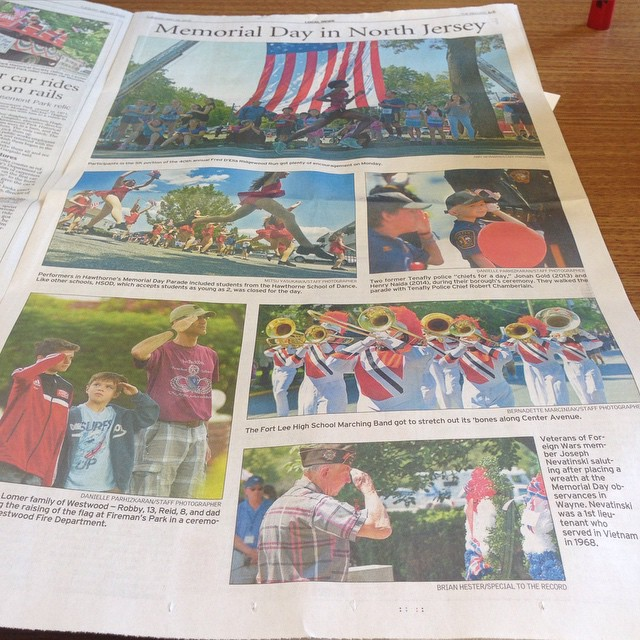 #WeHereLive #excited #blessed #happy to see one of my photos in today's #record (lower right hand co