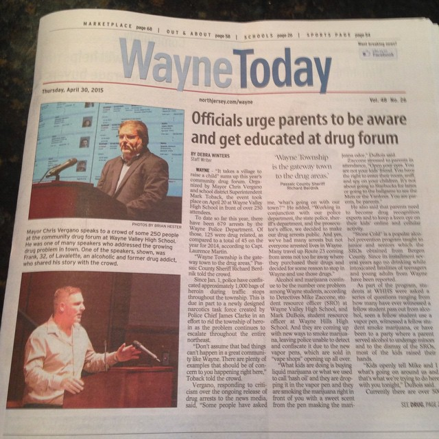 #weherelive #waynetoday #cover #story by  #debrawinter Photos by @brianbehindthelens So I grew up in