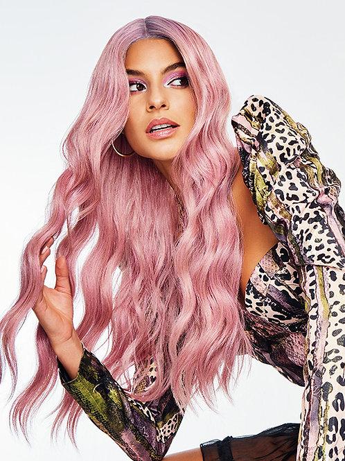 Lavendar frose wig