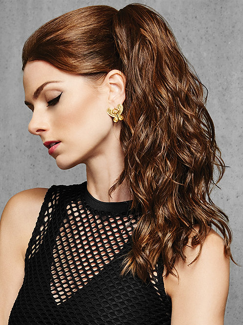 18 inch simply curly ponytail