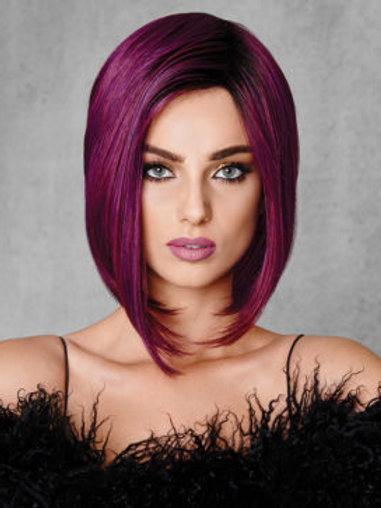 Midnight berry wig