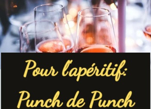 Pour l'apéritif: Le Punch de Punch 1 bouteille de 10 cl