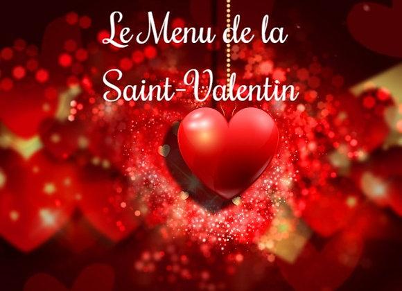 Le Menu de la Saint Valentin pour 2 personnes