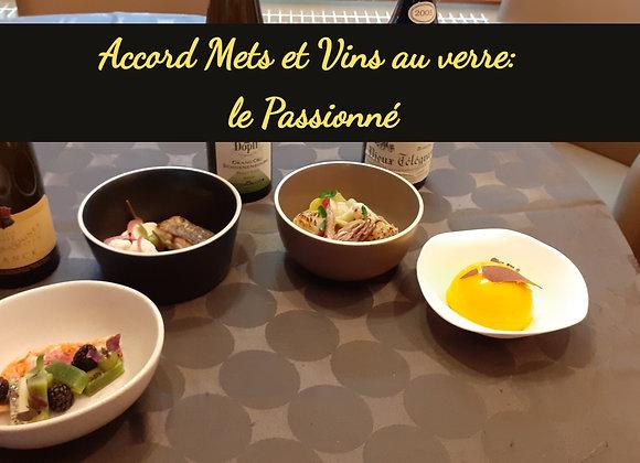 """L'accord Mets et Vins """"le Passionné""""  4 vins différents en bouteilles de 10cl"""