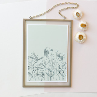 mint black framed