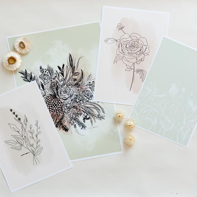 prints together