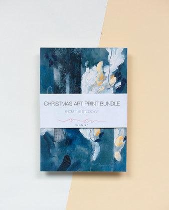 Christal | Christmas Art Print Bundle | A6