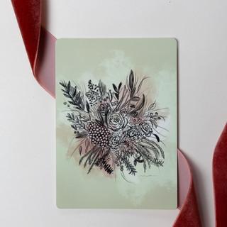litlle bouquet card