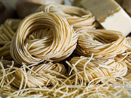 Lemon Arugula Spaghetti with Shiitake Bacon - Thursday August 20 5pm