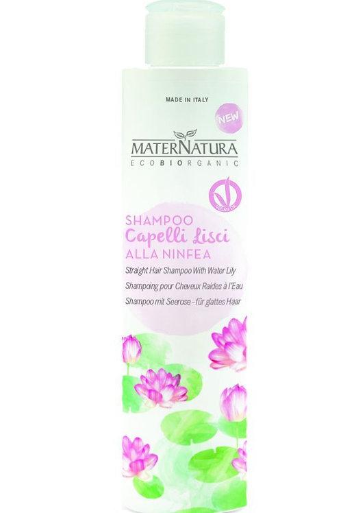 Shampoo Capelli Lisci alla Ninfea - MATERNATURA