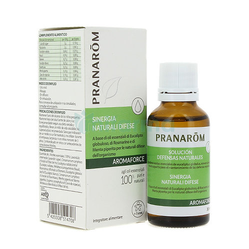 AROMAFORCE PRANAROM NATURAL DEFENSES SOLUTION 30 ML.