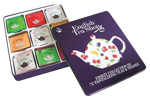 Scatola english tea shop - 72 filtri