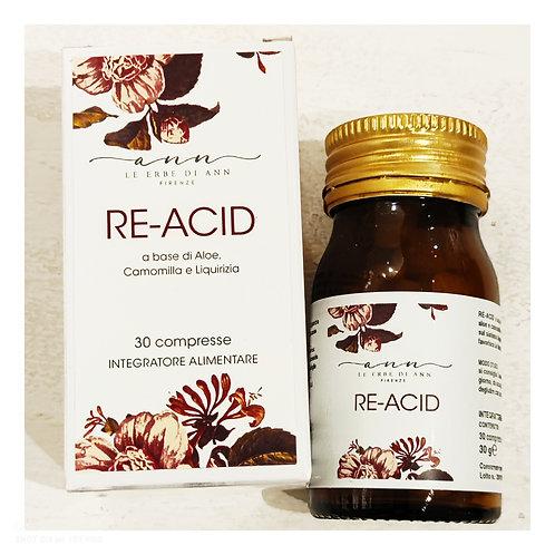 Re-Acid camomilla e liquirizia per acidità di stomaco