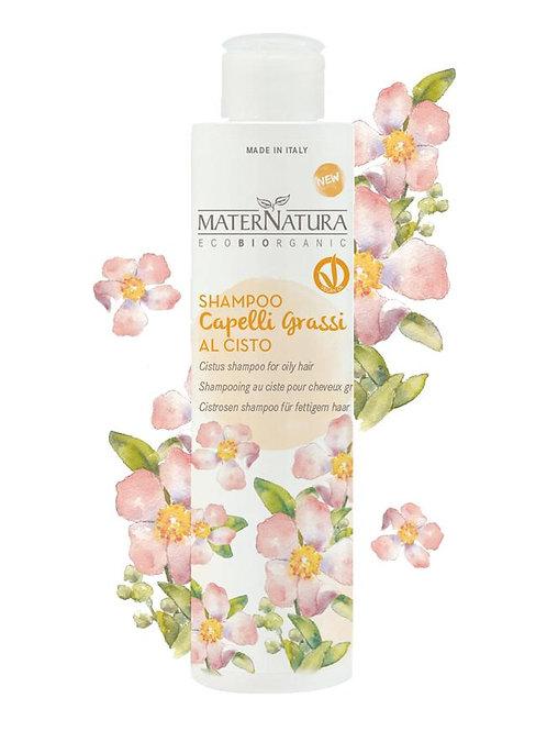 Shampoo Capelli Grassi al Cisto - MATERNATURA