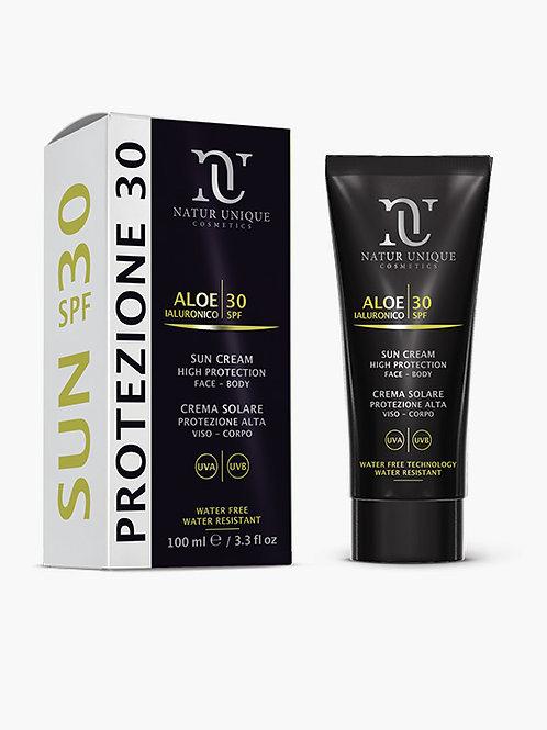 Crema Solare Viso Corpo Protezione Alta 30 SPF -  NATURE UNIQUE