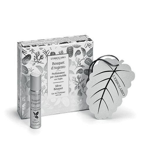 Copia di Profumo 10 ml con foglia armadio Bouquet argento - Erbolario