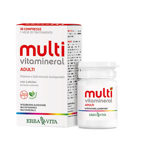 Multivitamineral 30 compresse - Erbavita