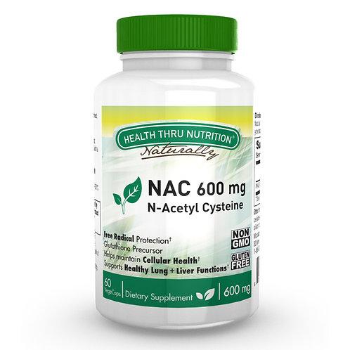NAC - N Acetil Cisteina 600mg - 60 vegcap