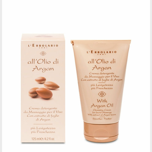 Crema viso detergente Argan 125ml - Erbolario