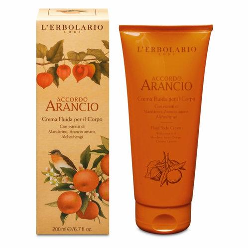 Crema Fluida per il Corpo Accordo Arancio - Erbolario