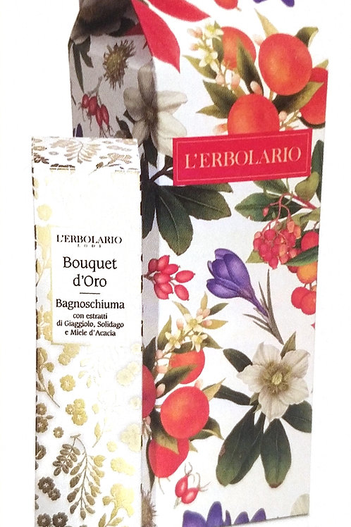 Bagnoschiuma Bouquet d'Oro - Erbolario
