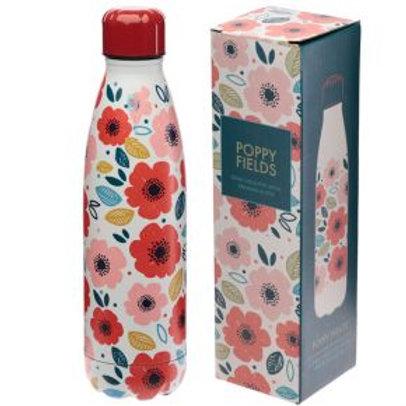 Bottiglia Termica Acciaio 500ml - Papavero
