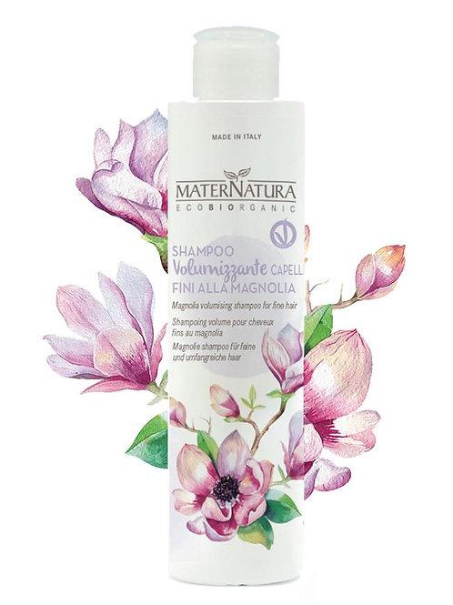 Shampoo Volumizzante Capelli Fini alla Magnolia - MATERNATURA