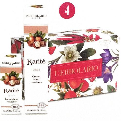 Crema mani e burro labbra Karité -  Erbolario