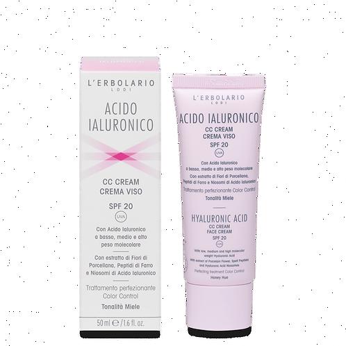 CC Cream tonalità Miele Acido Ialuronico  - Erbolario