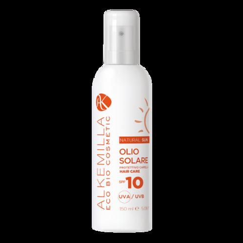Olio Solare Protezione Capelli Spray SPF 10 - Alkemilla