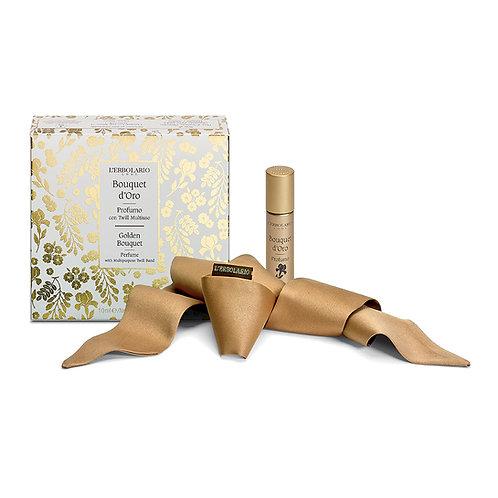 Profumo 10 ml con twill Bouquet d'Oro - Erbolario