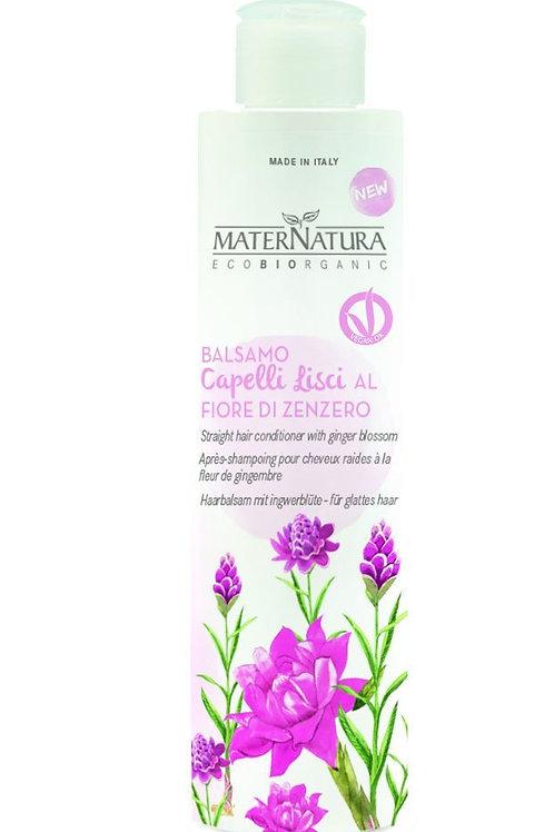Balsamo Capelli Lisci al Fiore di Zenzero - MATERNATURA