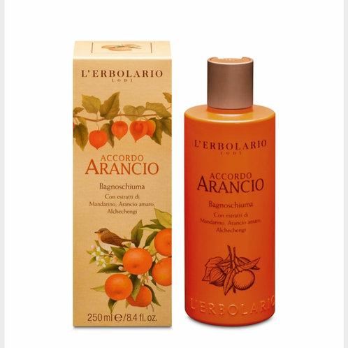 Bagnoschiuma Accordo Arancio - Erbolario