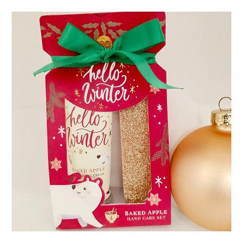 Crema mani natalizia 35ml e limetta unghie