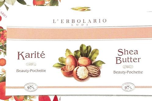 Beauty pochette (bagnoschiuma 75ml + crema corpo 75ml) Karité - Erbolario