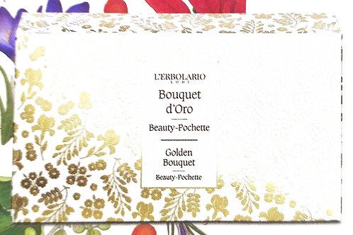 Beauty pochette (bagnoschiuma 75ml + crema corpo 75ml) Bouquet d'Oro - Erbolar