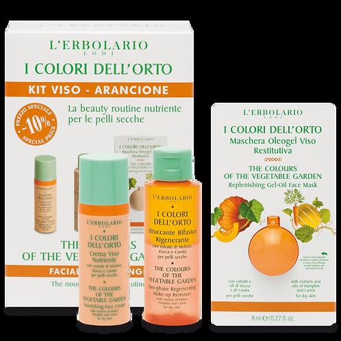 Kit Viso Arancione I Colori dell'Orto - NUTRIENTE - ERBOLARIO